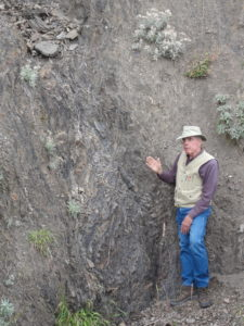 Jim discusses the nature of deformation in eastern Olympic Mountains accretionary complex.